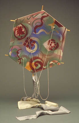 Porcelain Chinese Kite by George Woideck